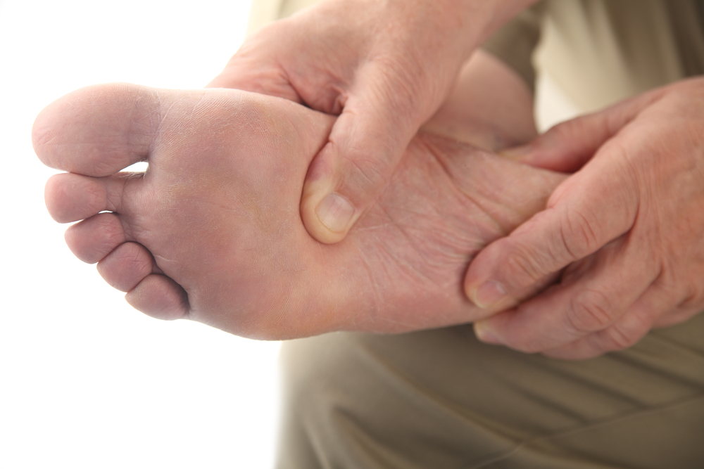right foot plantar fasciitis pain