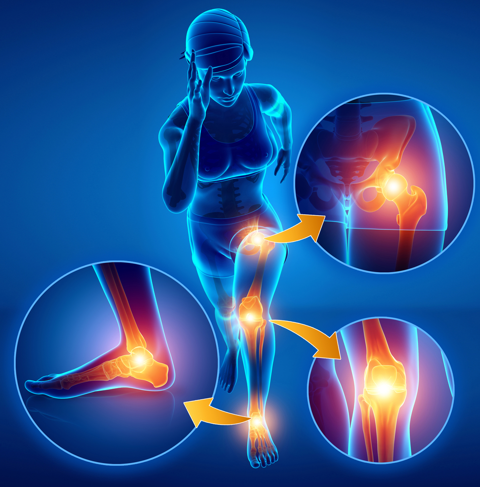 pain in joints of lower extremities