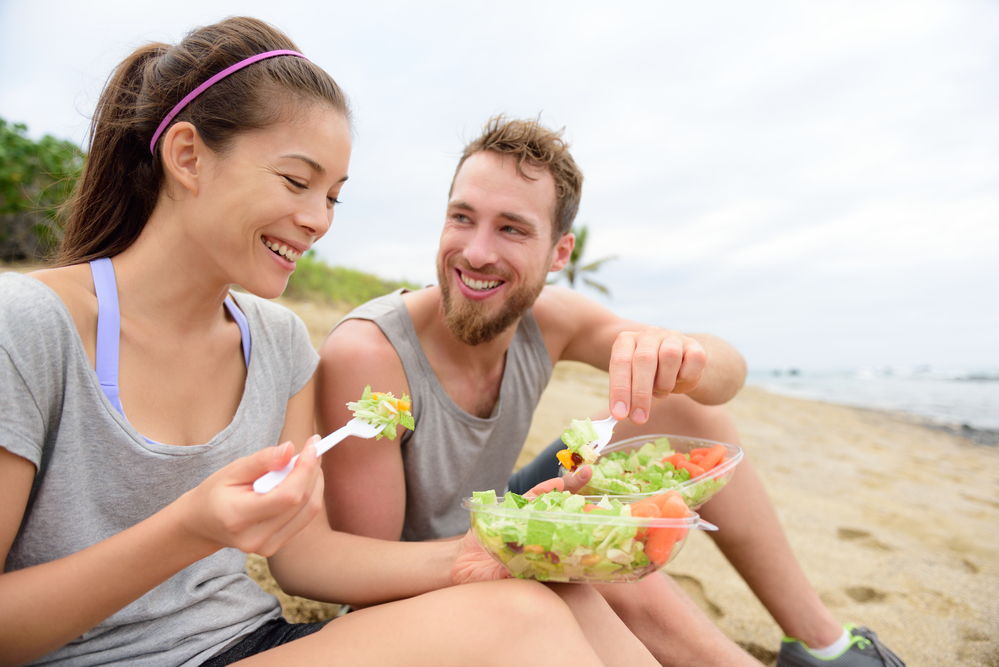 stress reduction with diet and exercise