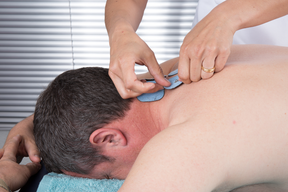 muscle stimulator for peripheral neurophathy